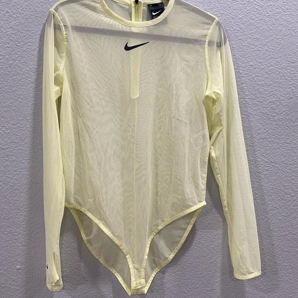 NWT** Nike Neon bodysuit